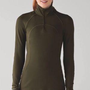 Lululemon First Mile Half Zip Jacket Size 2